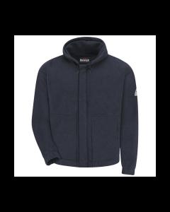17 cal Zip-Front Hooded Fleece Sweatshirt CAT2 Bulwark Polartec® - SMH6