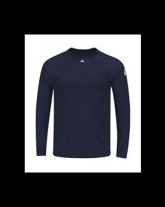 8.1 cal Long Sleeve Tagless T-Shirt CAT2 Bulwark Polartec® - SMT4