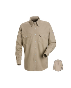 Bulwark Cool Touch® 2 Button Front Deluxe Shirt - SMU2