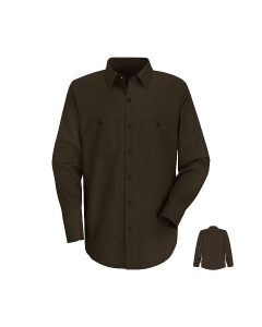 Red Kap Men's Long Sleeve Industrial Work Shirt - SP14